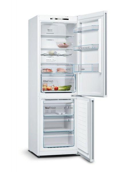 Bosch KGN36VWEAG Frost Free Fridge Freezer - White - A++ Energy Rated