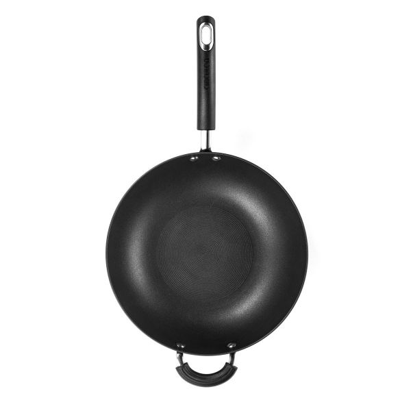 Circulon Total Hard Anodised Stir Fry Wok Pan 26cm Non-Stick