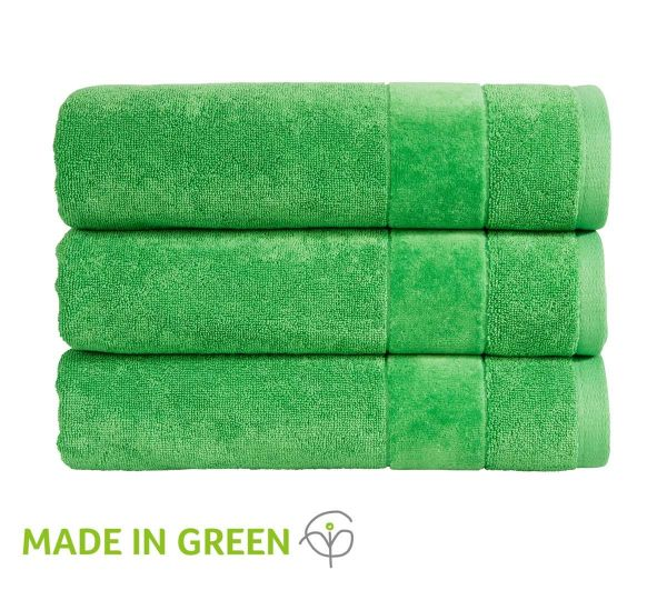 Christy Towels Prism Guest Towel in Absinthe