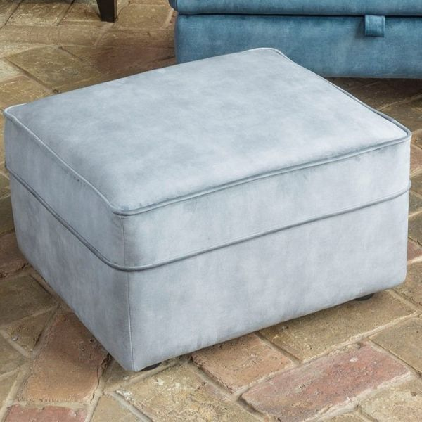 Alstons Poppy Standard Footstool