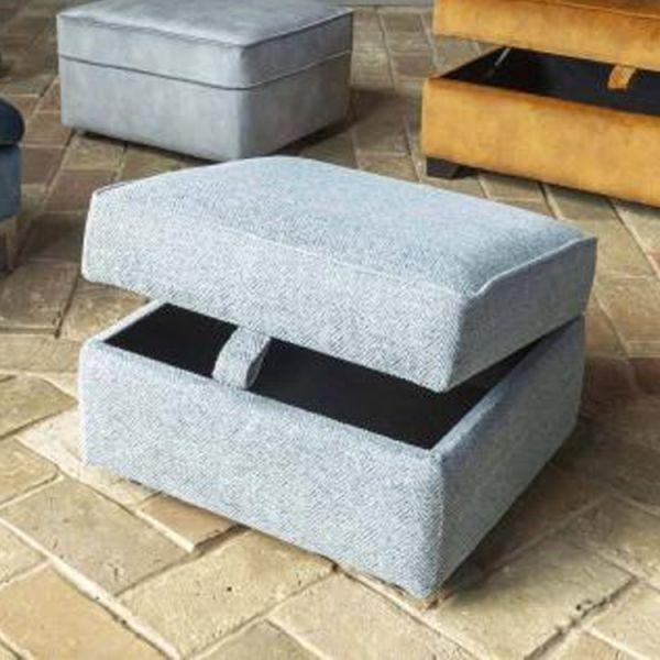 Alstons Poppy Storage Footstool