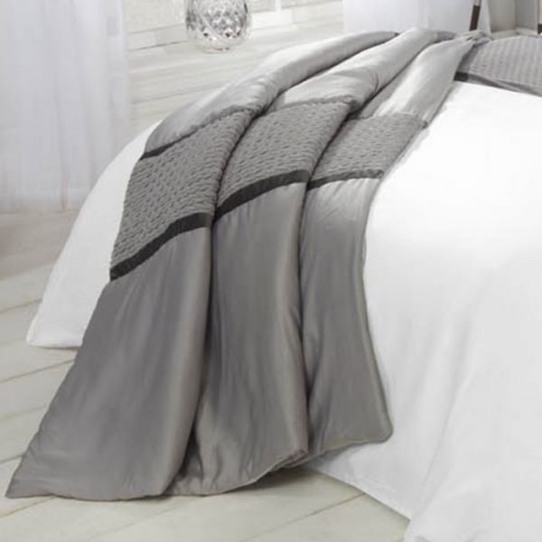 Julian Charles Soho Grey Bedspread
