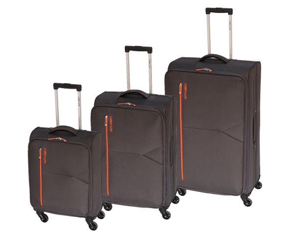 Skyflite Carry:Lite Bemuda Spinner Medium Trolley Case in Grey 65 Litres