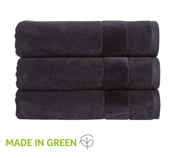 Christy Towels Prism Guest Towel in Blackout