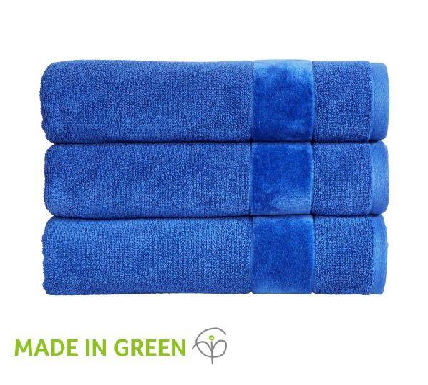 Christy Towels Prism Guest Towel in Blue Velvet