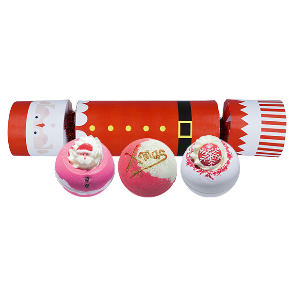 Bomb Cosmetics 'Father Christmas' Cracker Beauty Pamper Gift