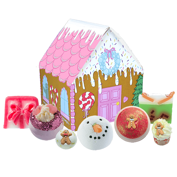 Bomb Cosmetics 'The House Of Sugar And Spice' Beauty Pamper Gift