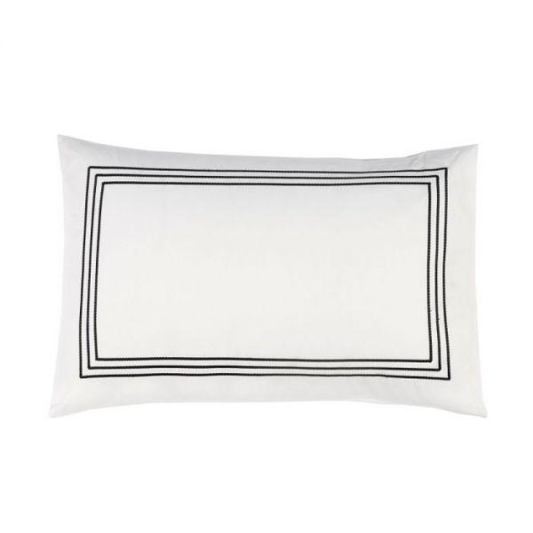 Julian Charles Burlington Navy Housewife Pillowcase (Pair)
