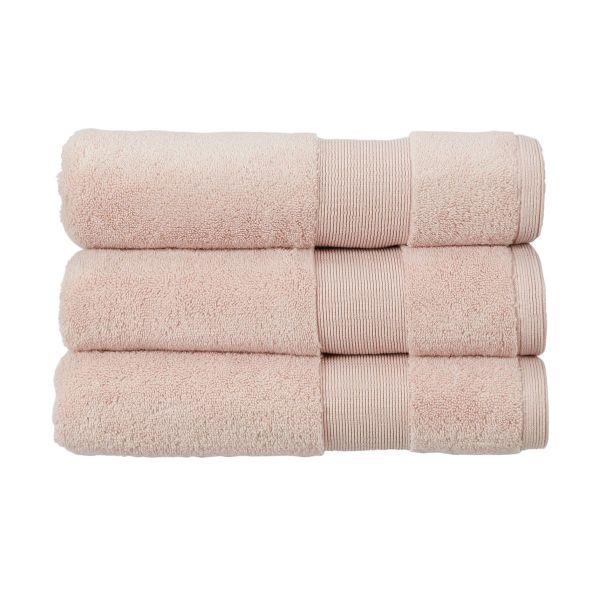 Christy Towels Carnival Bath Mat in Blush