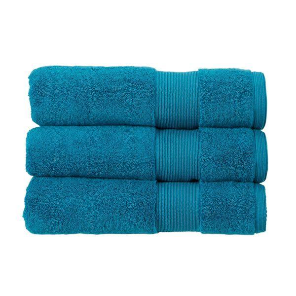 Christy Towels Carnival Bath Sheet in Peacock