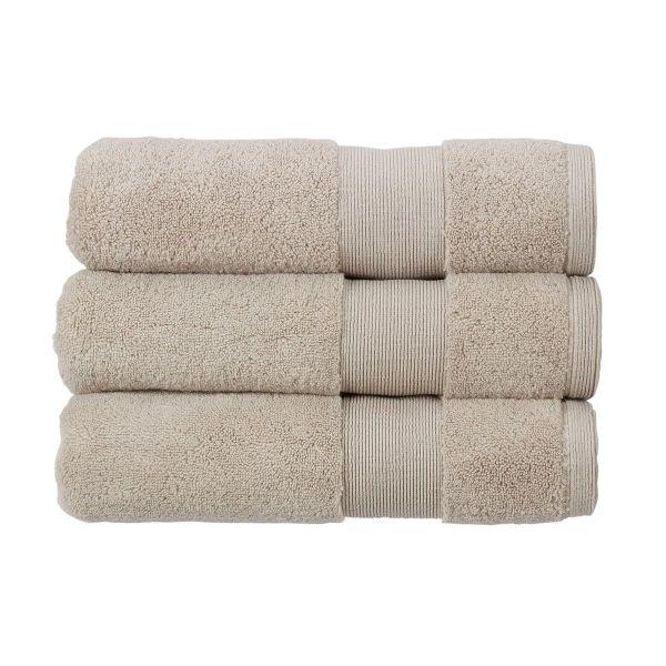 Christy Towels Carnival Bath Towel in Pebble