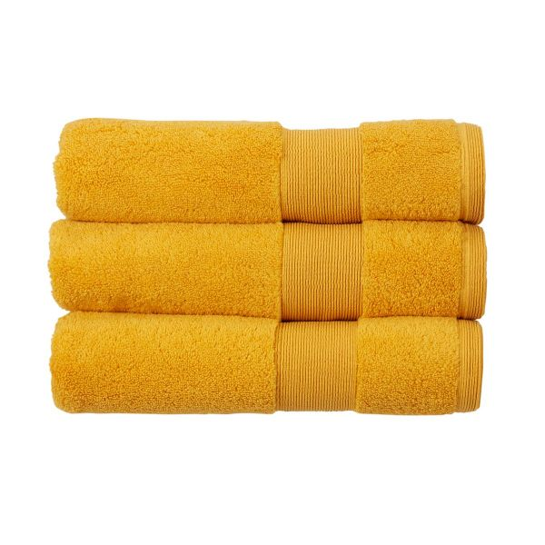 Christy Towels Carnival Bath Sheet in Saffron