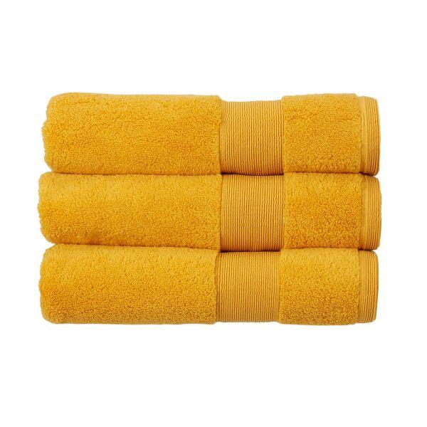 Christy Towels Carnival Bath Towel in Saffron