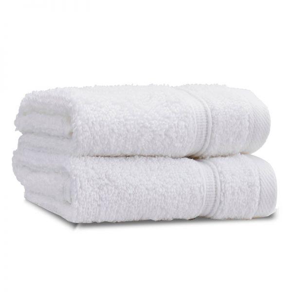 Catherine Lansfield Zero Twist 30X30Cm Face Cloth Pair White