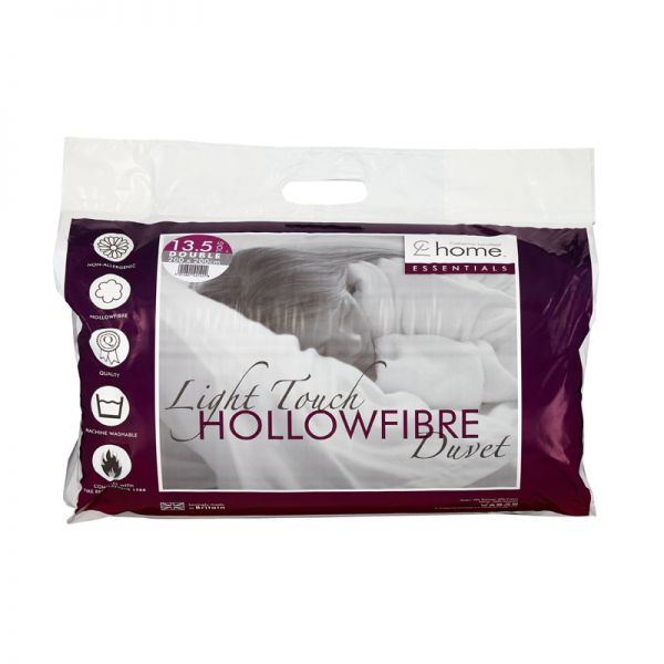 Catherine Lansfield Essentials 13 Tog Double Hollowfibre Duvet