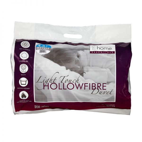 Catherine Lansfield Essentials 4 Tog Single Hollowfibre Duvet