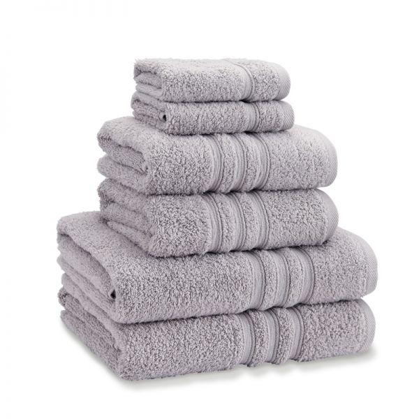 Catherine Lansfield Zero Twist Towel Bale Silver