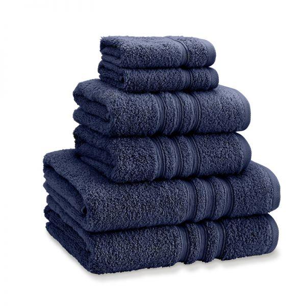 Catherine Lansfield Zero Twist Towels Navy