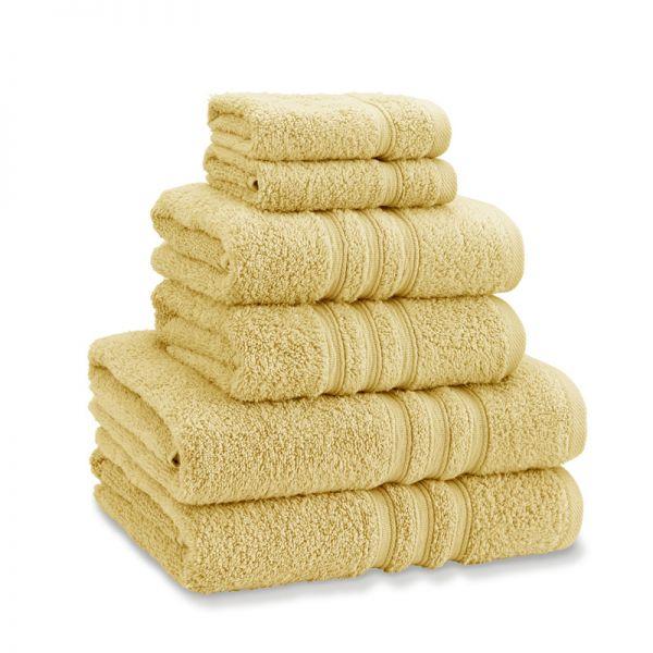 Catherine Lansfield Zero Twist Towel Bale Ochre