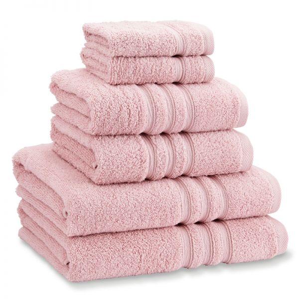 Catherine Lansfield Zero Twist Towel Bale Pink