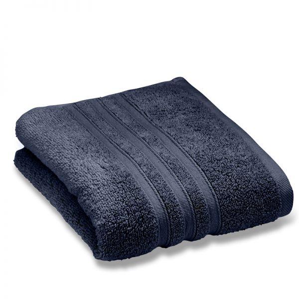 Catherine Lansfield Zero Twist 50X85Cm Hand Towel Navy
