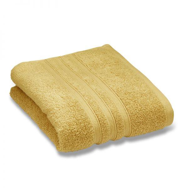 Catherine Lansfield Zero Twist 50X85Cm Hand Towel Ochre