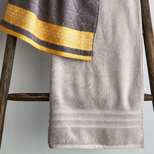 Catherine Lansfield Zero Twist Towel Silver