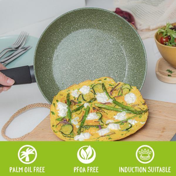 Prestige Eco Twin Pack 20cm & 24cm Frying Pans Non-Stick