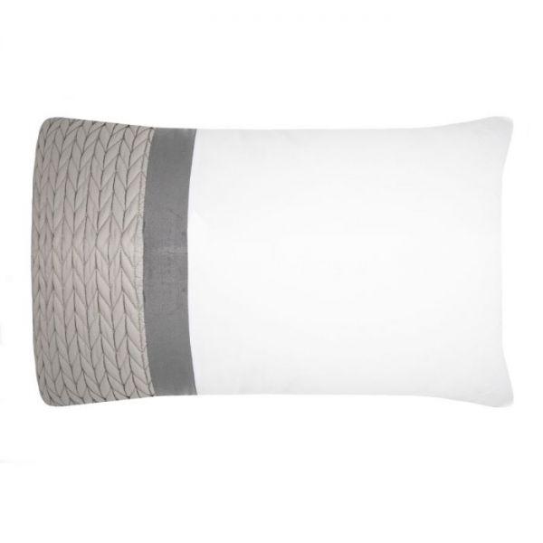 Julian CharlesSoho Grey Housewife Pillowcase (Pair)