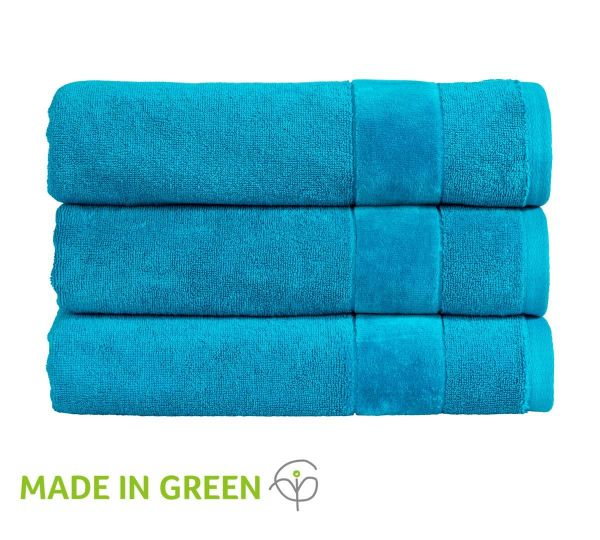 Christy Towels Prism Guest Towel in Poolside