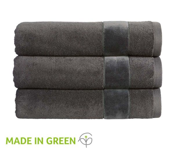 Christy Towels Prism Guest Towel in Tarmac