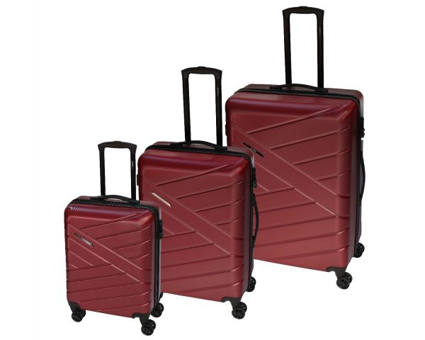 Skyflite Vanquish Spinner Large Trolley Case in Red 95 Litres