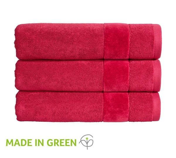 Christy Towels Prism Hand Towel in Very Berry