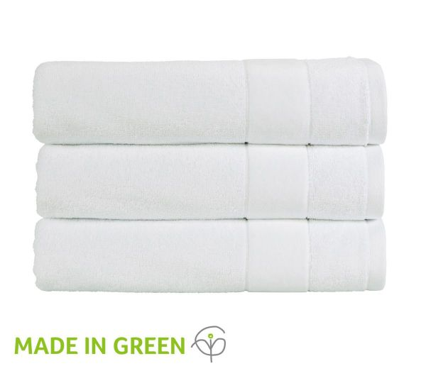 Christy Towels Prism Face Cloth in Whitewash