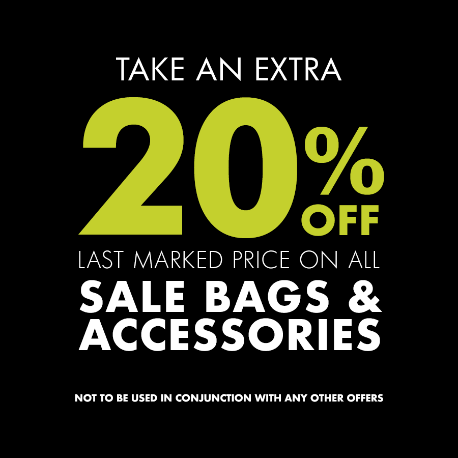 20% Off Bags and Accessories at Pavers Shoes Atkinsons
