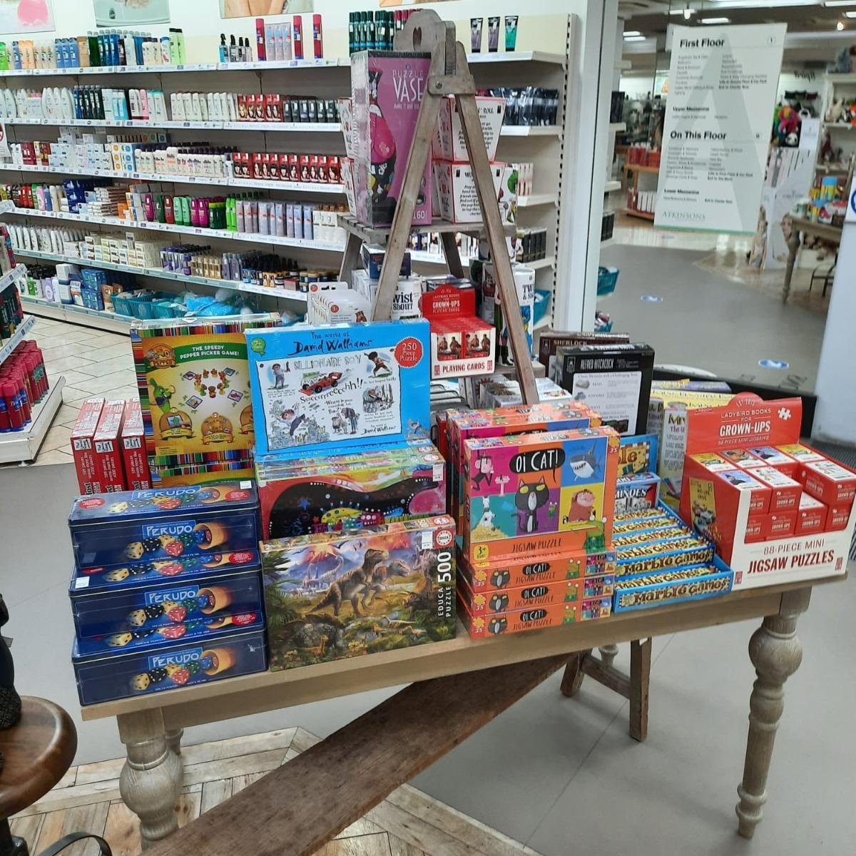 Board Games at Atkinsons