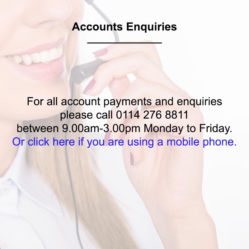 Accounts Enquiries