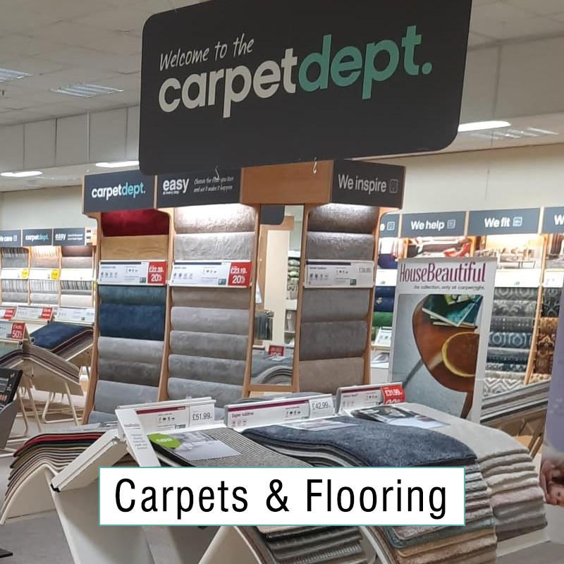 Carpets & Flooring at Atkinsons Sheffield