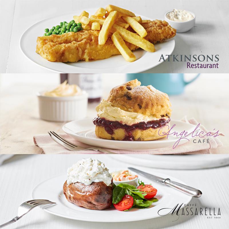 Eateries Restaurants at Atkinsons Sheffield