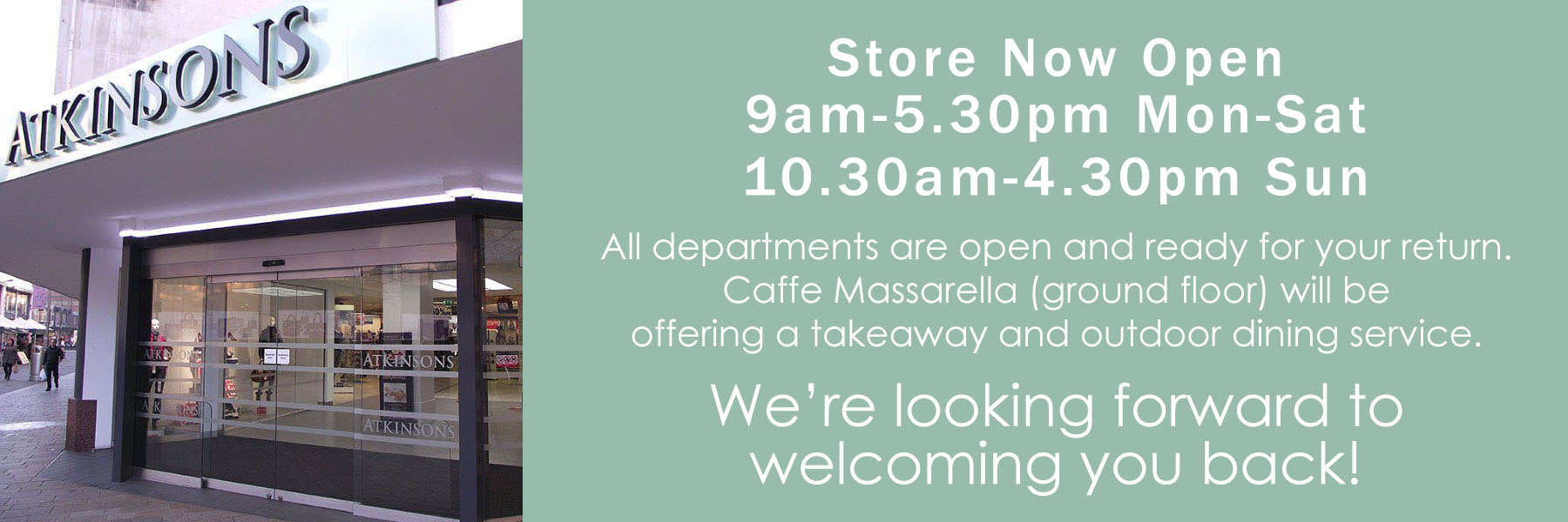 Store Now Open